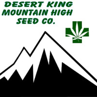 Logo Desert King Mountain High Seed Co.